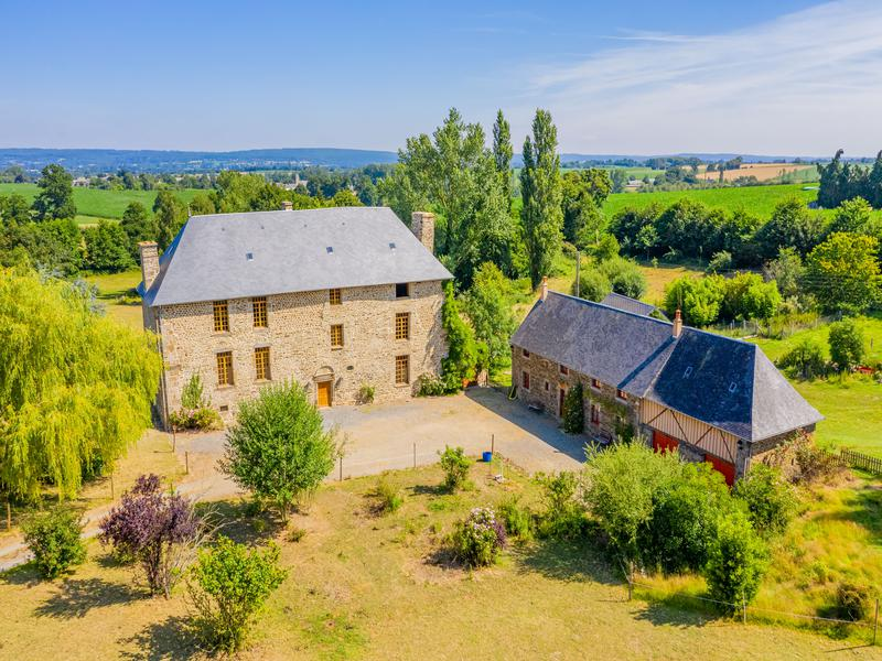 Stunning Historic Manor For Sale in Normandy France