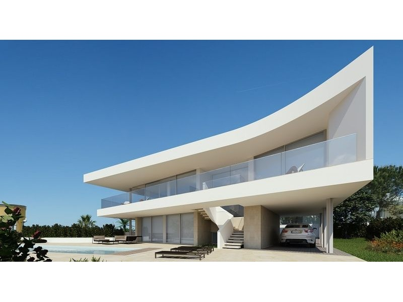Beautiful Designed Contemporary Villa For Sale 400 Meters From Lagos  Beach