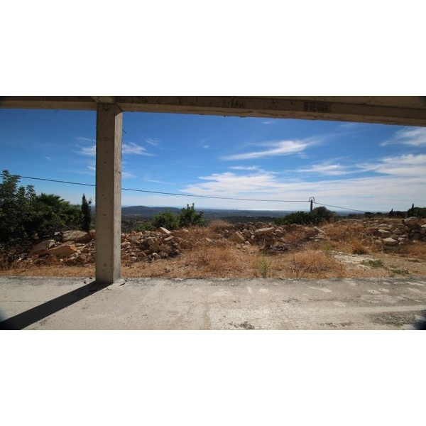 Plot With Villa Structure In Loule, With Panoramic Seaviews