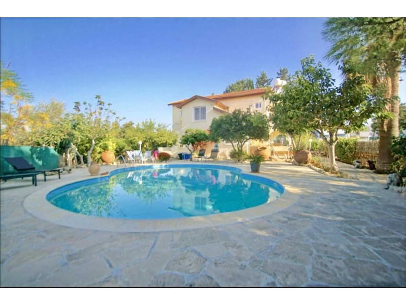 Superb House with Land in Paphos Cyprus