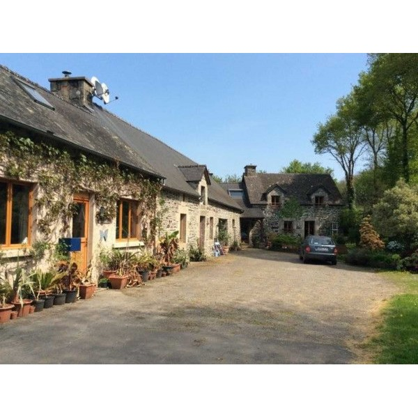 Superb 3 Bedroom Stone House And Gite With Land In Morbihan France